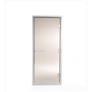 Врата стъклена за парна кабина Tylo, 778x2020 мм, бронзe