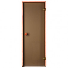 Врата стъклена за сауна Trendline 790x1990 мм, бронзе