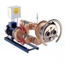 Джет хидромасажен 63 m³/h, хром, комплект за фолио