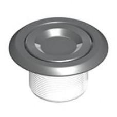 Дюза за бетон вакуумна с резба 2'',  бял ABS + инокс
