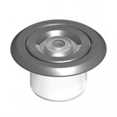 Дюза за бетон вливна с резба 2'',  бял ABS + инокс