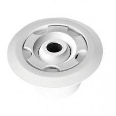Дюза за бетон вливна Ф45 за съосно лепене в тръба Ф50 х 2.4 мм, бял ABS