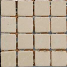 Камъчета естествени, 15х15x4 мм бежови