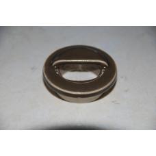 Капачка за сифон на водно ниво - керамична ръчна Ф45мм