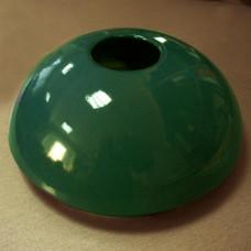 Капачка за фонтан керамична зелена