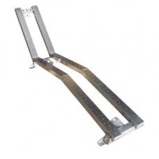 Лежанка двойна 2x60x1150 мм, закладна част