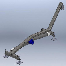 Лежанка единична 100х1150 мм, закладна част