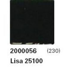 Мозайка стъклена черна, Lisa 2.5x2.5 cm