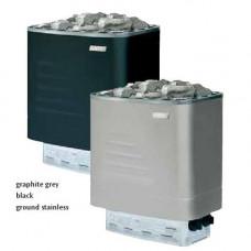Печка електрическа NM 600 Black 6 kW за сауна, с вградено управление