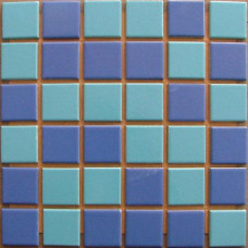 Плочки керамика микс Сий, 45 х 45 мм, за басейн