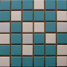 Плочки керамика микс Скай, 45 х 45 мм, за басейн