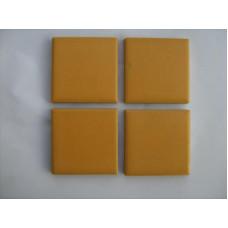 Плочки керамика оранжева, 45 х 45 мм, за басейн