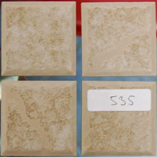 Плочки керамика светлокафяви, 45 х 45 мм, за под