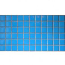 Плочки керамика светлосини, 45 х 45 мм, за басейн