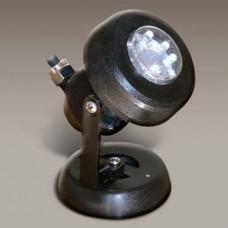 Прожектор диоден мини 12 LED, 1.2W 12V, синя светлина