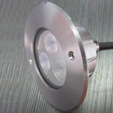 Прожектор диоден мини  LED, 3x3W 24V, бял