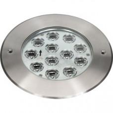 Прожектор диоден мини LED RGB, 12x3W 24V