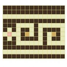 Стъклокерамичен фриз К  Н=26.4см