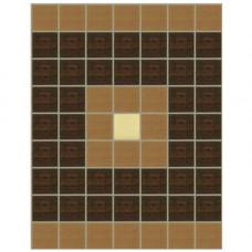 Стъклокерамичен фриз G-М тъмен Н=19.8 cm