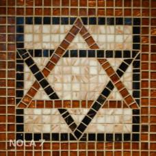 Стъклокерамична мозайка Геометрична звезда