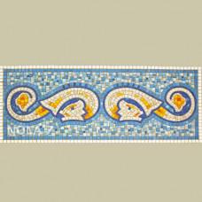 Стъклокерамична мозайка Две риби