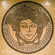 "Стъклокерамична мозайка ""Женско лице"""