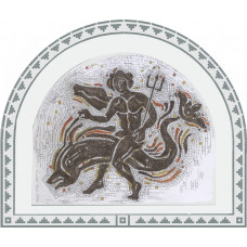 """Стъклокерамична мозайка """"Зефир"""" 270х220 cm"""
