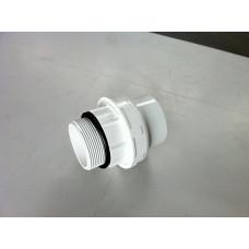 Холендър Ф50 х 1-1/2'' за шестпътен вентил, бял