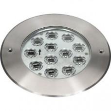 Прожектор диоден мини  LED RGB, 12x3W 24V,