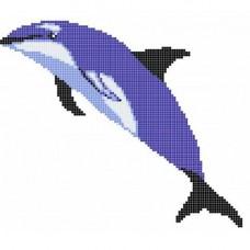 Стъклокерамична фигура делфин 16