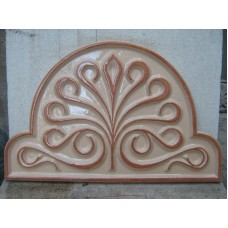 "Пано керамично ""Цвете"" - 35х60 см."