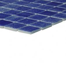 Мозайка стъклена тъмносиня, Nieve Azul Marino 2.5x2.5 cm