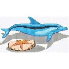 Стъклокерамична фигура Делфин 13