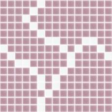 Стъклокерамика микс Екзита лилаво с бяло