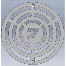 Решетка за сифон неръждаема НОЛА 7 кръгла