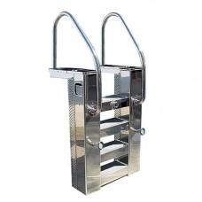 Моноблок стълба двускоростен 2050м3ч метален с нагревател 12 kW