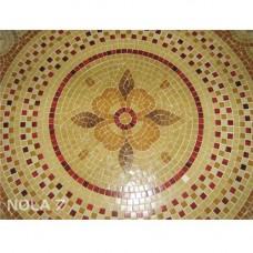 """Стъклокерамична мозайка """"Медальон Траки"""" - диаметър 254см."""