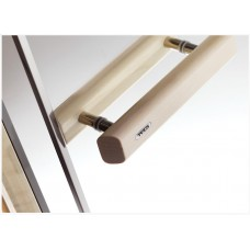 Врата стъклена за сауна Tylo 800x2100 мм, бронзe