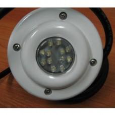 Прожектор диоден мини 12 LED, 2W12V, бял