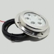 Прожектор диоден мини  LED , 6x2W 14V Бяла