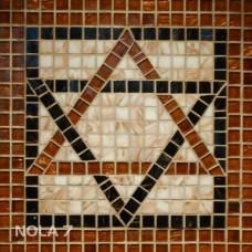 """Стъклокерамична мозайка """"Геометрична звезда"""" - 30.8х30.8см"""