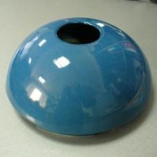 Капачка за фонтан керамична синя
