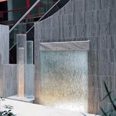 Фонтан в150-2 glass-mirror waterfall