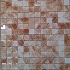 Кристална мозайка Lyrette C003, 23x23x4 mm, двуцветна в бежово