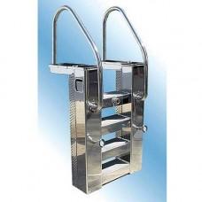 Моноблок стълба 25м3ч метален с топлообменник