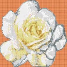 Стъклокерамична фигура роза f-06