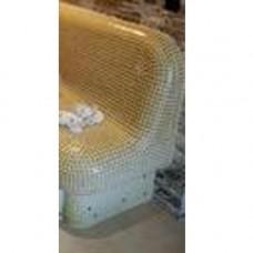 Модул завър.за пейка накл.за вана за крака, стък д