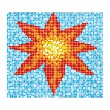 """Стъклокерамична фигура """"Цвете"""", 132x123 cm"""