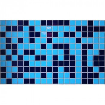 Плочки керамика микс Индиго, 45 х 45 мм за басейни