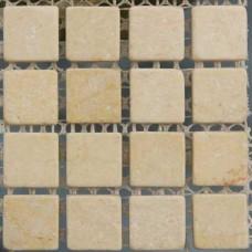 Камъчета естествени, 15х15x6 мм vanilla